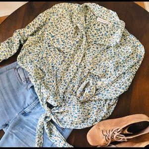 Anthropologie spring/summer blouse